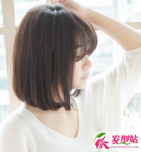 韩式显瘦女生短发2017图片