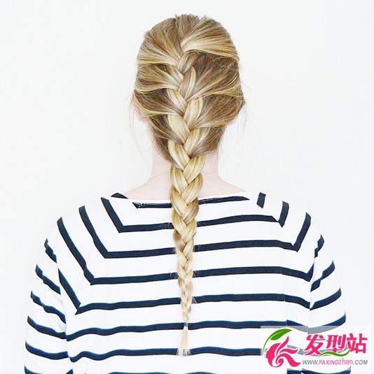 蜈蚣辫编发图片大全 最适合运动健身的扎发!