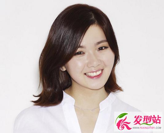 时尚短发女生波波头2017韩国流行短发发型打火机女生图片