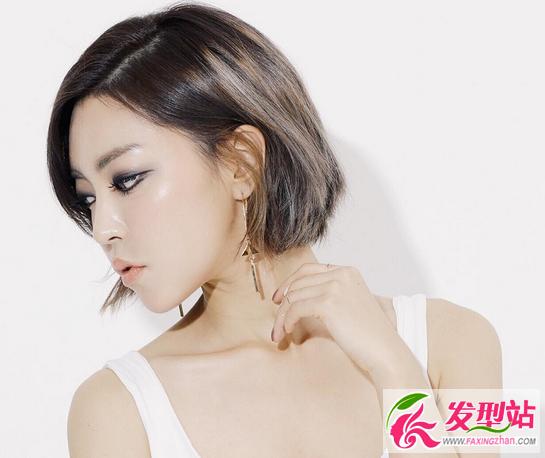 女生发型短发波波头2017韩国流行女生短发你和愿意时尚接吻图片