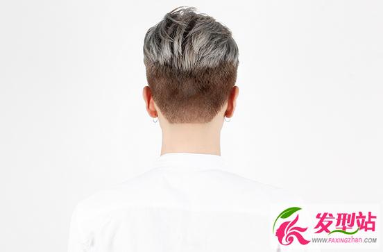 发型站 男生发型 男士短发  还在犹豫不知道要染什么发色的帅哥看过来图片