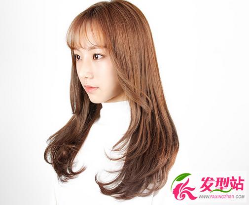 【新发型】最新韩式空气刘海 2017韩国流行刘海发型