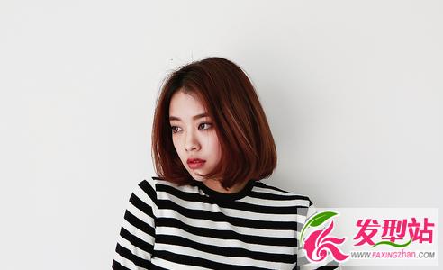 25款韩国最in短发 2017短发流行发型女大全图片