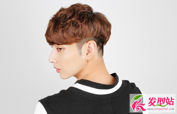 韩式男生烫发卷发设计图片