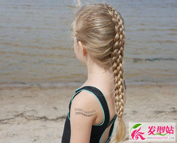 小女孩公主头编发 儿童编发发型图片100例-妈妈必学的小女孩可爱编发