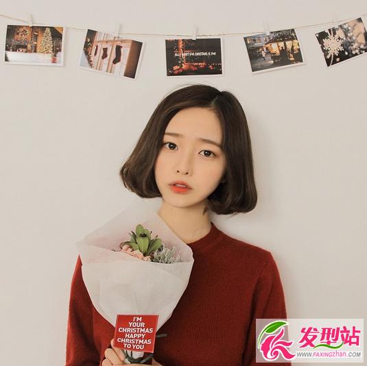 韩国短发女神就是她 超可爱波波头最吸睛-女生短发