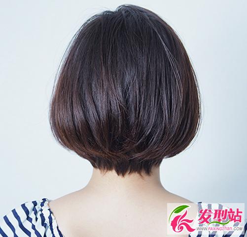 圆脸女生剪短波波头 圆脸女生适合的短发发型图片