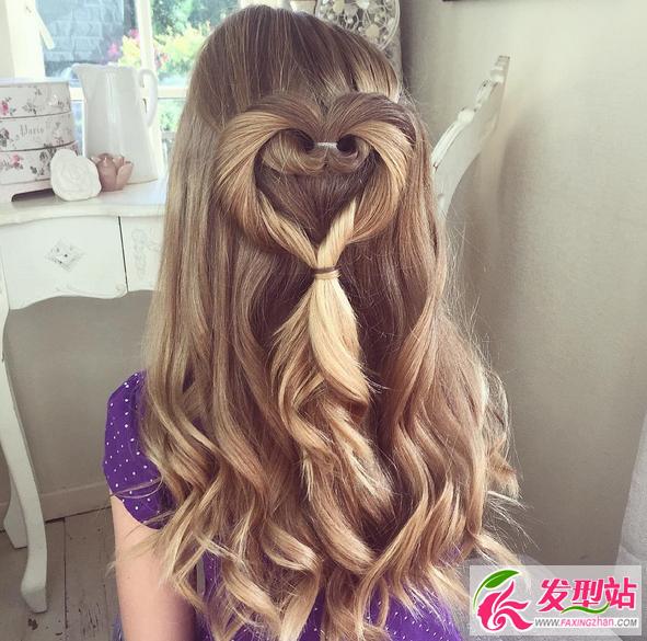 小公主可爱发型扎法 六岁小女娃扎什么发型好看-儿童