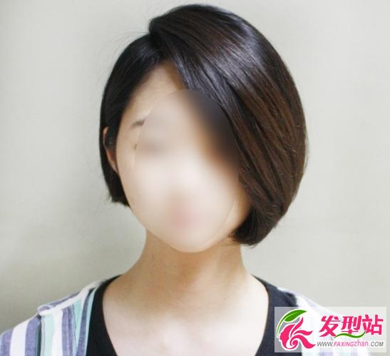 波波头短发发型 职场帅气女生短发发型图片