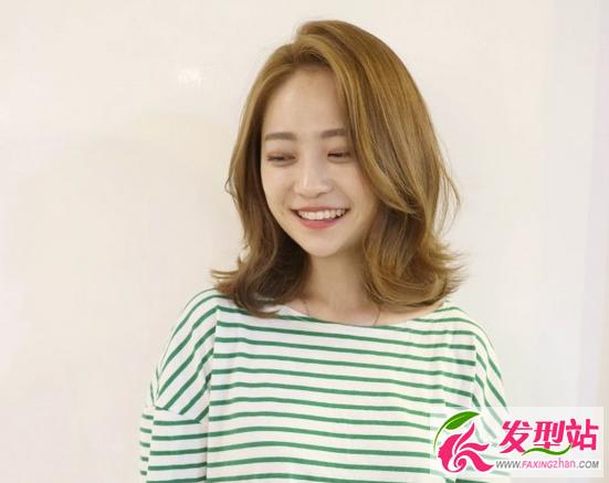 时尚韩式短发发型 2017女生流行短发设计图片