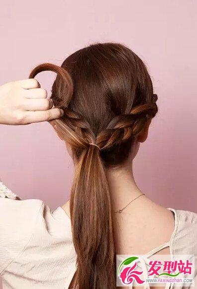 俏新娘发型设计 经典新娘编发教程图片