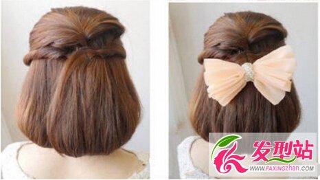 文艺女生发型怎么扎 新款公主编发教程图片