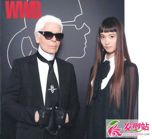【新发型】她的刘海越短越时尚 连拉格菲尔德也亲睐她