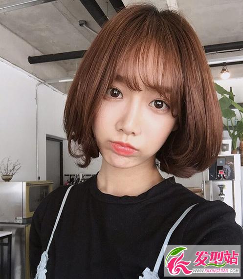 发型站 流行发型 短发发型  如果你是职场上班族,喜欢韩式短发但是又图片