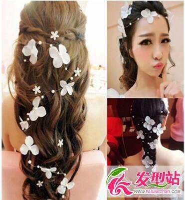 韩式新娘发型图片 2016新款新娘发型设计图片