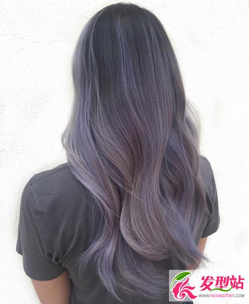 2017流行染发色板 最全彩色头发效果图大全图片