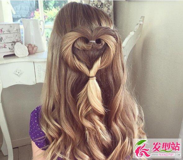五岁小女孩扎什么发型 小女孩长发扎发图片图片