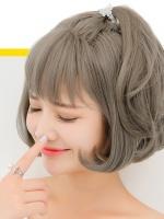 显白青木亚麻灰染发 最新女生染发流行色推荐