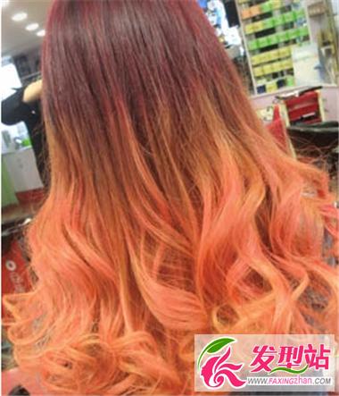 渐变色发型大汇集 让你每时每刻都炫酷