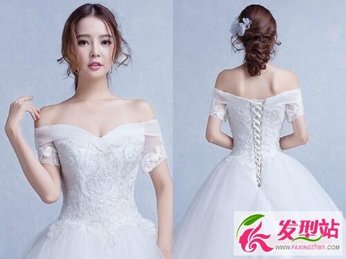 简约韩式新娘发型图片 浪漫优雅彰显新娘美感图片