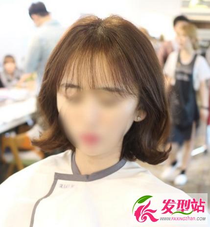 韩版女生短发 | 发型设计-韩国模特尹善英短发 超美韩式短发发型设计图片