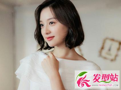 韩版女生短发 | 金智媛-韩国模特尹善英短发 超美韩式短发发型设计图片