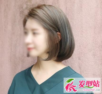 三款韩版短发正流行 2017女生最潮短发发型图片