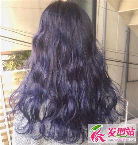 发廊专用染发表-宛如薰衣草般的梦幻紫,深紫到浅紫的渐变发色,超显时尚个性,迷人图片