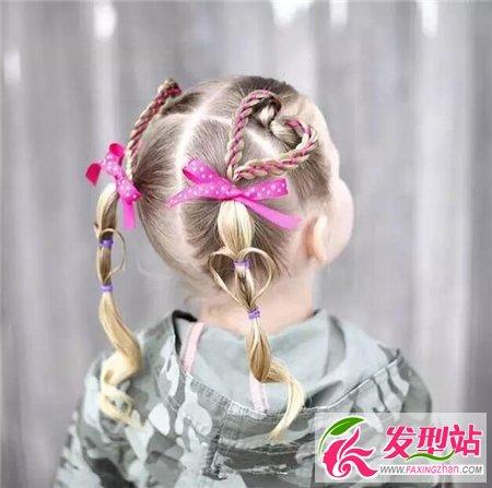 6岁小女孩发型 儿童发型设计大全图片