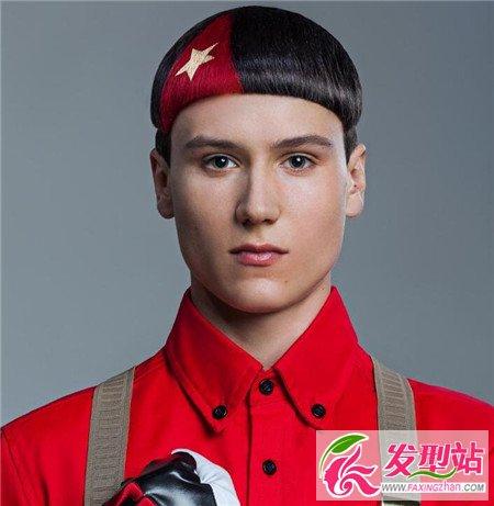 成熟大气男生发型丨蘑菇头-成熟大气男生发型图片 复古背头两边铲短发