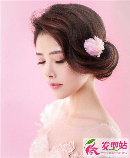 萌美短发新娘速成记 短发新娘发型设计图片