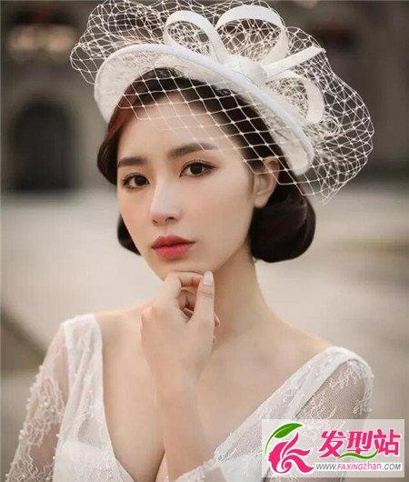 新娘发型流行趋势