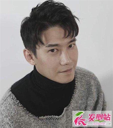 韩式发型设计发型男生刘海-发型风格男生-逗号韩式图片发型婚纱图片