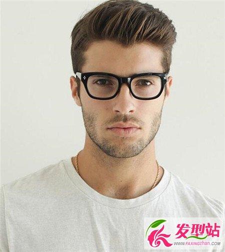 流行发型男图片