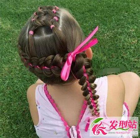 花式儿童编发 小女孩花样发型