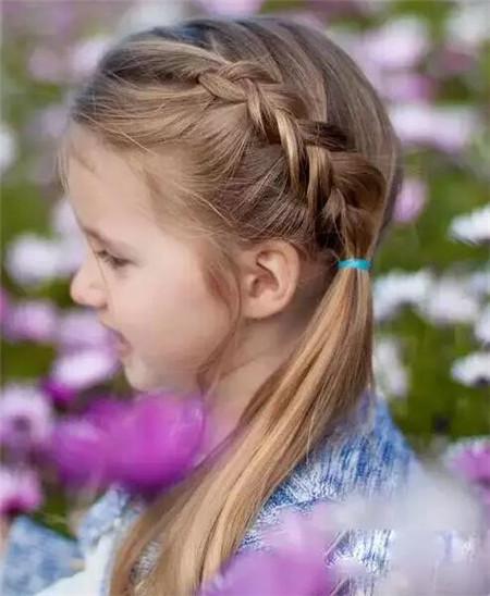 儿童舞台剧发型 小女孩发型设计图片