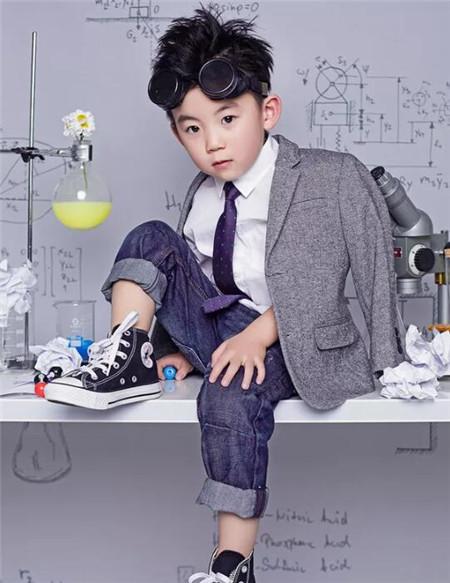 2-7岁小男孩发型 打造酷炫乖宝宝