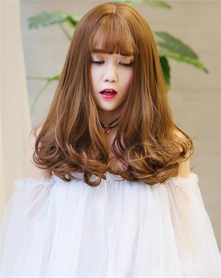 中长梨花烫 今年流行这么烫-梨花头-发型站_最新流行.图片