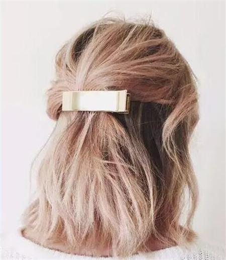 头发样式-最新扎发款式 单发髻最有queen范