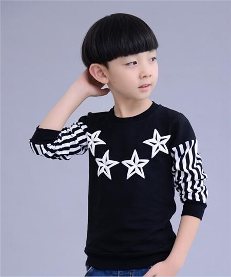 小男孩发型设计图片