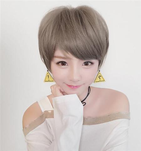 韩式短发波波头