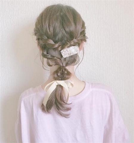 长发编发发型
