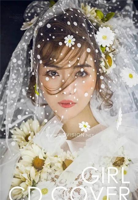 新娘婚纱照造型