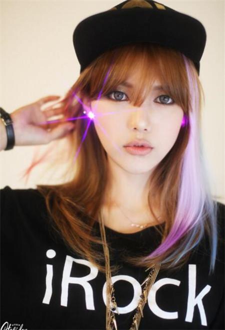 朴惠敏pony发型