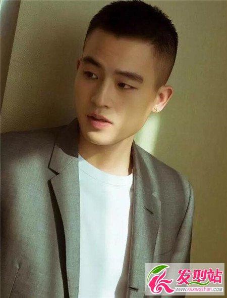 发型站 男生发型 时尚男发 板寸   寸头虽然有劳改头之称,而使得