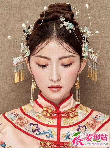 2018新娘经典发型100例 秀禾妆惊艳全场来宾图片