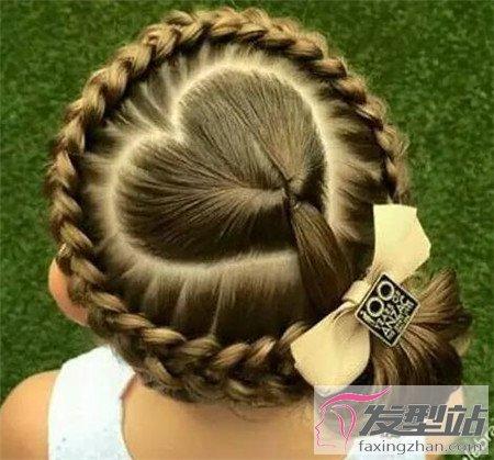 没有过节发辫好看巧编皮筋儿童100例中短发过年发型怎么扎头发图片