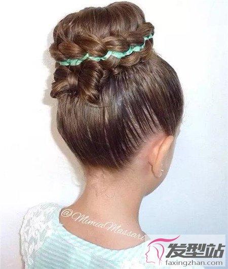 过节过年造型好看巧编儿童新娘100例头发发型女发辫图片