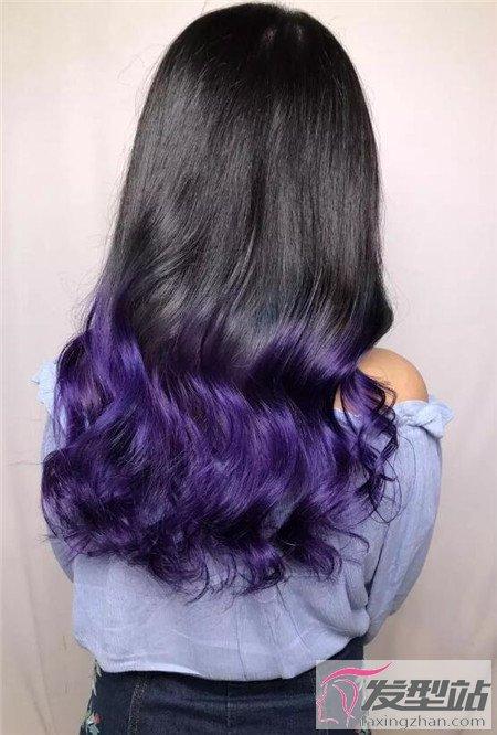 """""""紫外光色""""染发"""
