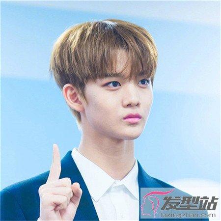 韩式男生流行发色